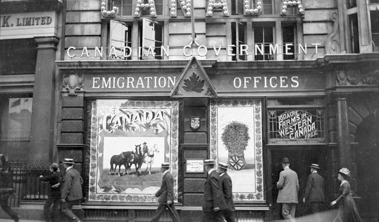 History of south asians in canada timeline south asian canadian heritage - London immigration office ...