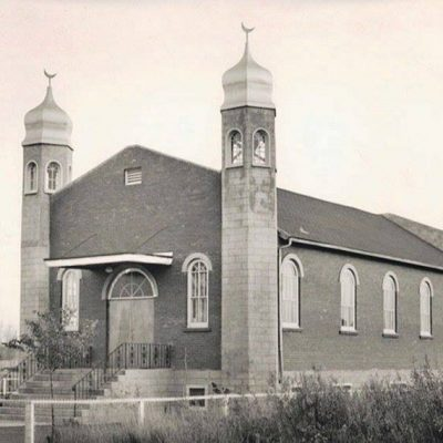 first mosque in Canada built in 1938