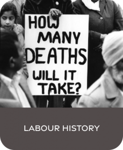 labour history, history, labout, south asian